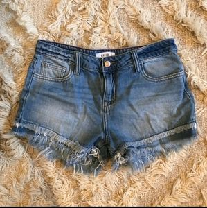 Carly Jean Denim Shorts
